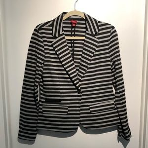 NWOT Merona Striped Knit Blazer